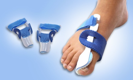 Two Adjustable Night Toe Regulators