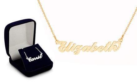 Colar Carrie Style com nome à escolha por 14,99€ ou dois colares por 21,99€