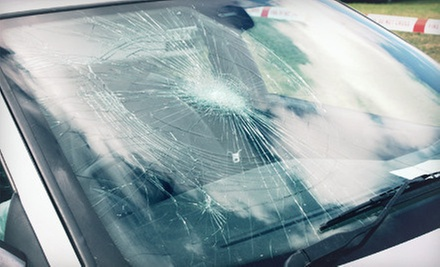 Three Windshield-Chip Repairs or C$29 for C$130 Toward Windshield Replacement at CalAlta Auto Glass