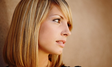 $69 for Haircut, Style, and Partial Color Treatment with Master Stylist at Salon On Point Inc ($175 Value)