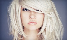 Ammonia-Free Full-Color Treatment, or Color Touchup with Haircut or Partial Highlights at Hair Carrie (Up to 51% Off)