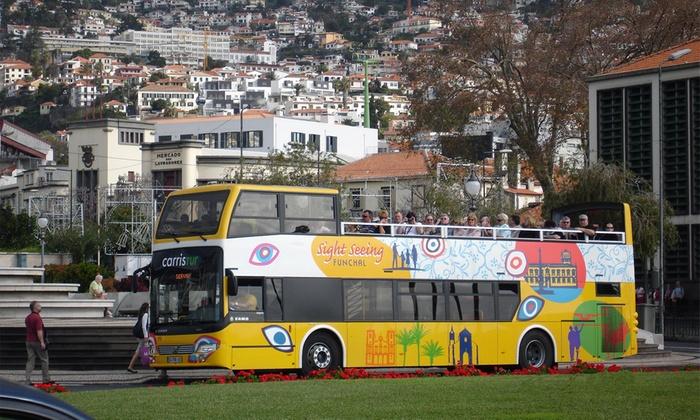 Yellow Bus — 3 localizações: bilhete para tour por Lisboa, Porto ou Funchal desde 6€