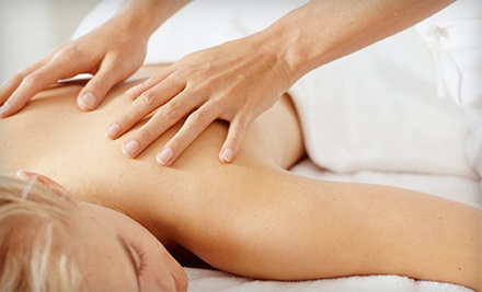 60-Minute Swedish Massage or Deep-Tissue Massage with Hot Stones at MeTime Massage (51% Off)