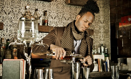 Listen to stories of Harlem during the Prohibition while 67 Orange Street's owner mixes and pours four craft cocktails