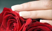 One or Three Shellac Manicures from Betsy at Mina's Salon (Up to 54% Off)