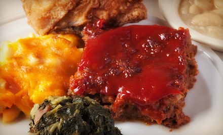 Southern Food at Bernie's on Main Street (Up to 53% Off). Three Options Available.
