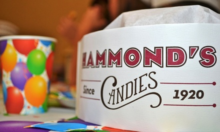 Birthday Party for Up to 16 or 24 with Food, Private Room, and Factory Tour at Hammond's Candies (Up to 51% Off)