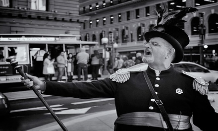 Historical or Waterfront Tour for 2, 4, 6, or 15 from Emperor Norton's Time Machine (Up to 74% Off)