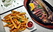 Steak-House Prime-Rib Dinner for Two or Four at Talia's Steakhouse & Bar (Up to 55% Off)