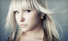 Haircut and Deep Conditioning with Options for Partial or Full Highlights at Stephanie's Village Salon (Up to 64% Off)