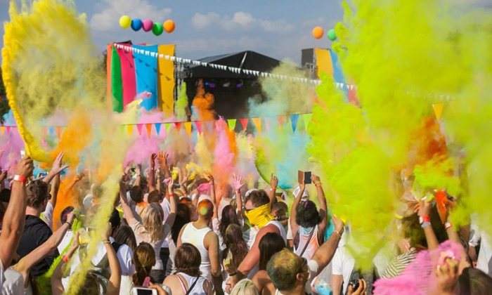 Funky Junk Productions - Johannesburg: Tickets To The Holi Festival Of Colour From R127 at Bidvest Wanderers Cricket Stadium (50% Off)