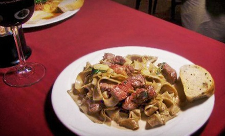 Italian Cuisine and Drinks at Annabella&#x27;s Restaurant (Half Off). Two Options Available.