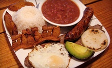 Three-Course Colombian Dinner for Two, Four, or Six at La Ventana Colombian Restaurant (Up to 63% Off)