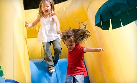 $25 for 10 Kids&#x27; Open-Bounce Visits to Jumpin&#x27; Jax Bounce &amp; Party Center in Papillion ($55 Value)