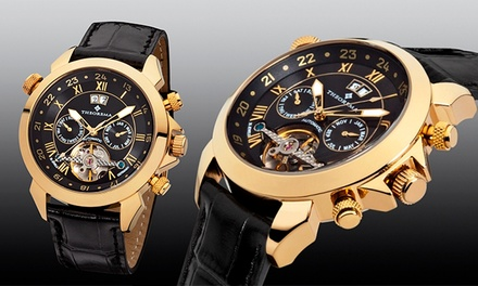 Theorema Marco Polo Watch in Choice of Designs - £179 (Up to 73% Off) With Free Delivery