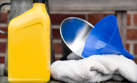 One or Three Oil Changes or a Spring Maintenance Package at Dealer Connection Auto Service (Half Off)
