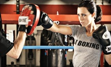 $39 for One Month of Unlimited Boxing and Kickboxing Classes with Gear at LA Boxing, a UFC Gym ($184 Value)