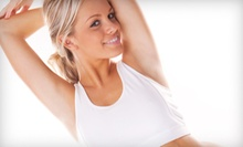 Six Laser Hair-Removal Treatments for One Small, Medium, or Large Area at Forever Fit Health Center (Up to 83% Off)