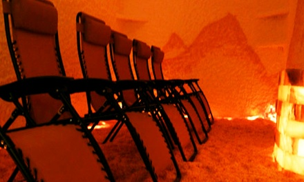 One or Three 45-Minute Salt-Cave Sessions at Salt Therapy of Georgia (Up to 48% Off)