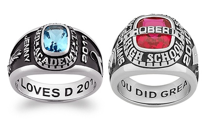 Personalized Women's or Men's Class Ring from Limogés Jewelry (Up to 82% Off)