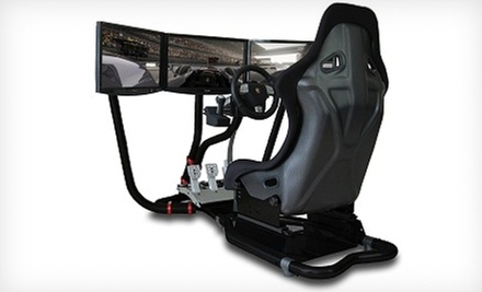 Sim Racing Package for 2, 4, or 10 at Grand Prix New York (Up to 62% Off)