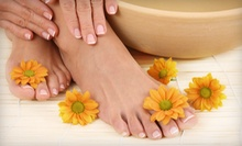 One or Three Basic Mani-Pedis or One Gel Manicure at Mandy's Nail Spa (Up to 56% Off)