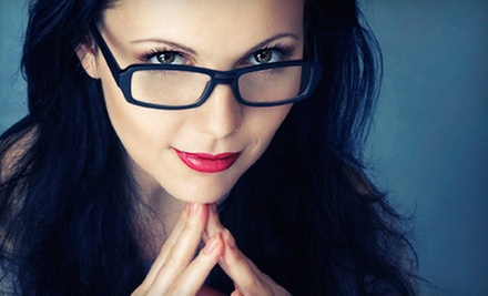 Eye Exam with Two Pairs of Glasses or $50 for $225 Toward Prescription Glasses at Eye Doctor&#x27;s Optical Outlets