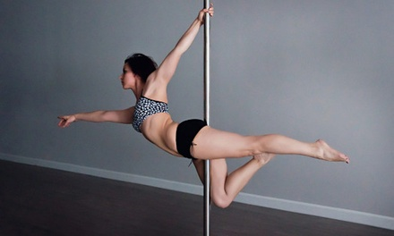 Two or Four Pole Fitness Classes at La Luna Aerial Arts (Up to 56% Off)