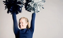 Four-Day Summer Cheerleading Camp for One or Two Girls at Smyrna Spartans Cheerleading (Up to 63% Off)