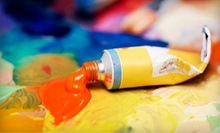 Therapeutic-Painting Class for One, Two, or Four at That Art Place (Up to 59% Off)