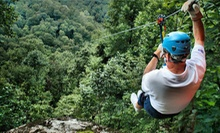Two-Hour Zipline Tour for One or Two from Black Mountain Thunder Zipline (Up to 56% Off)