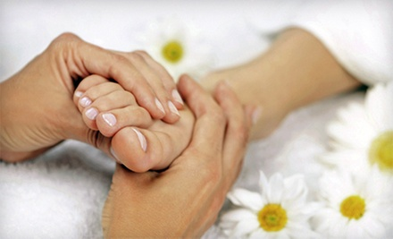 One or Three 60-Minute Reflexology Sessions with Amethyst BioMat at Reflexology Health LLC (Up to 53% Off)