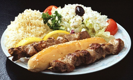 $8 for $16 Worth of Greek Food and Drinks at Dasks Greek Grill