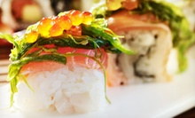 $10 for $20 Worth of Sushi and Japanese Cuisine for Two or More at KiKu Revolving Sushi Bar