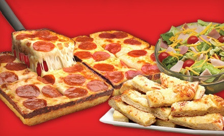Pizza and Sub Sandwiches at Jet's Pizza (Half Off). Two Options Available.
