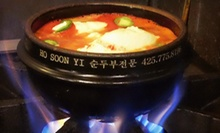 Korean Dinner or Lunch at Hosoonyi Korean Restaurant (Up to 52% Off)