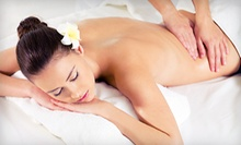 60-Minute Massage with Optional Body Scrub at GreenStone Spa (Up to 72% Off)