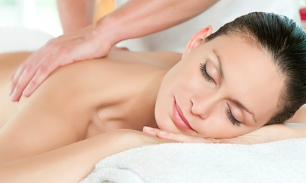 Swedish Massage or Facial with Optional Mani or Pedi, or Couple's Massage at Queen Jane Day Spa (Up to 62% Off)