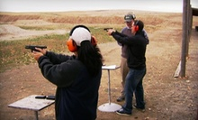 Concealed-Carry-Permit Course with Optional Introductory Handgun Class from A&amp;M Shooting Academy (Half Off)