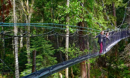 Admission to the Greenheart Canopy Walkway for One Person or a Family at UBC Botanical Garden (Up to 50% Off)