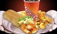 $9 for Three Vouchers for Famous Wraps at Great Wraps ($17.97 Value)