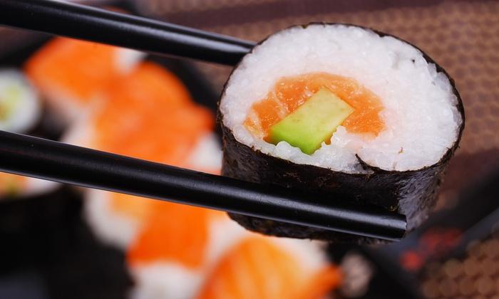 Sakura Sushi - Durban: 12-Piece Sushi Platter From R56 at Sakura Sushi (Up to 52%Off)