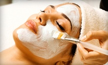 $145 for Two 90-Minute Spa Packages with Organic Facial and Makeup Application at daya organic spa ($290 Value)
