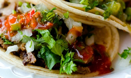 $20 for a Mexican Dinner for Two at Bad Dog Taqueria (Up to $40 Value)