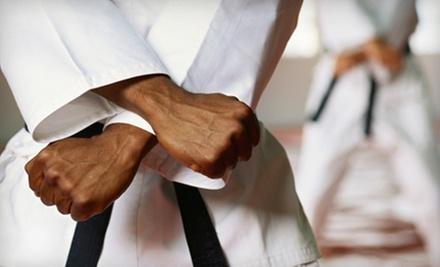 Eight Kids' Karate Classes or 10 Adult Kick-Boxing Classes at Westwood Karate (Up to 59% Off)