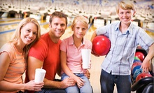 $30 for Two Hours of Bowling for Up to Six with Nachos and Pop at Bowlerama West ($100.54 Value)