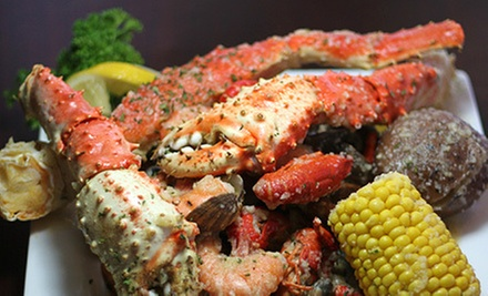 Seafood Feast with Steak and Fries for Two or Four at Maili Sunset Bar & Grill (51% Off)