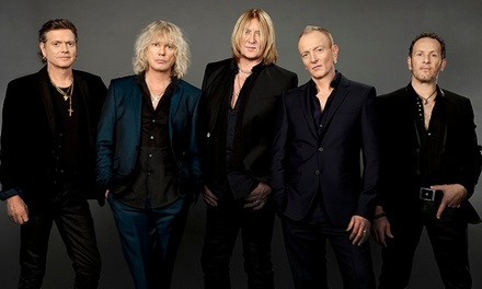 Def Leppard with Styx and Tesla at Ak-Chin Pavilion on Wednesday, September 23, at 7 p.m. (Up to 38% Off)