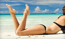 Three or Five Airbrush Tans at Divine Wax & Skin (Up to 81% Off)