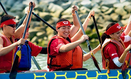 Four-Week Introduction to Dragon Boating Course for One or Two from Dragon Zone (Up to 53% Off)